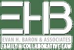 Evan H Baron logo white