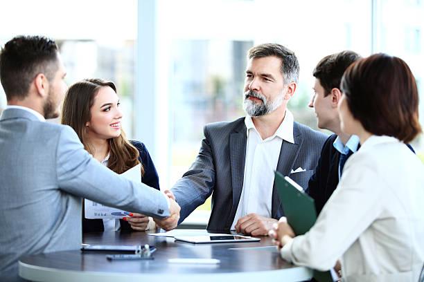 collaborative team meeting
