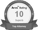 Avvo Rating 10 Superb logo