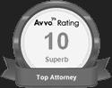 Avvo Rating 10 Superb logo