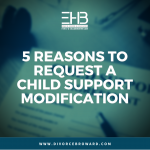 Child Support Modification Infographic