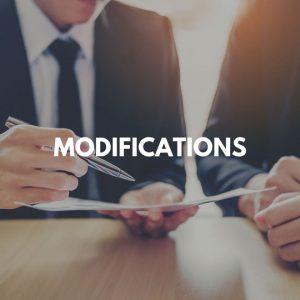 Modifications practice