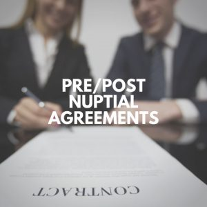 Pre & Post Nuptials Agreement Practice