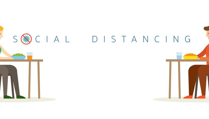 Social Distancing illustration